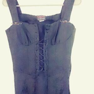 Asylum Melissa Mcelrath Full Length Corset Dress